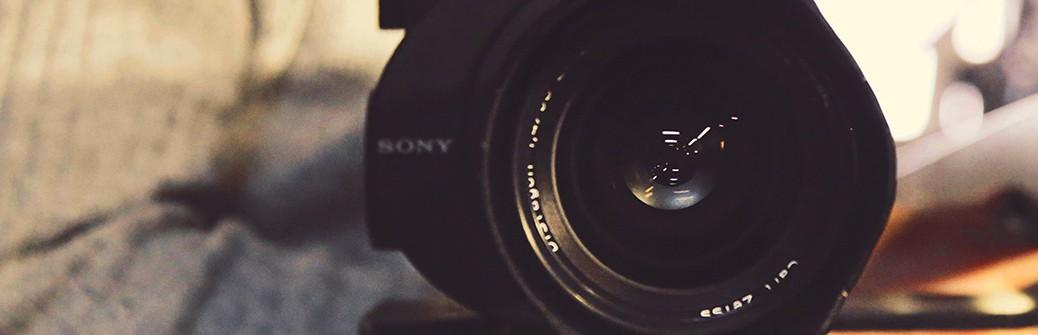 Bild Kameramann mit Kamera